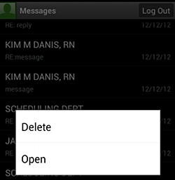 Android Delete Messages